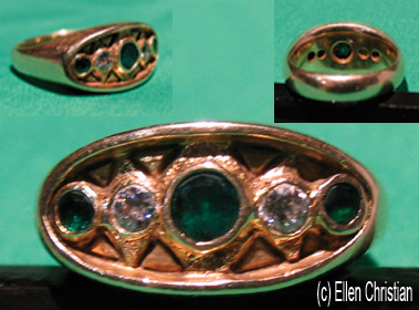 Emerald-Diamond Ring