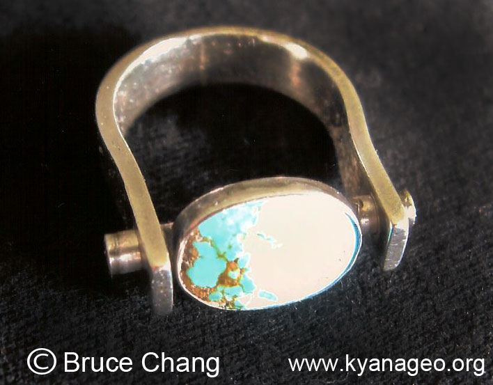 turquois silver ring